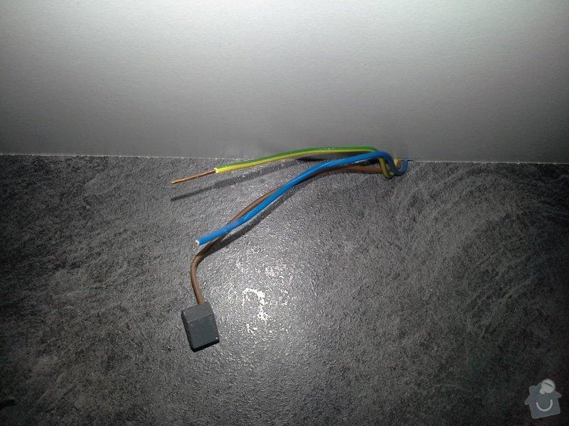 Zapojení zásuvek v kuchyňské lince a zapojení světla na kuchyňské lince: 078