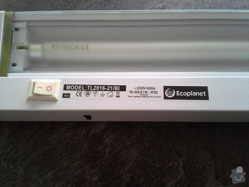 Zapojení zásuvek v kuchyňské lince a zapojení světla na kuchyňské lince: 089