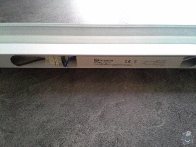 Zapojení zásuvek v kuchyňské lince a zapojení světla na kuchyňské lince: 087
