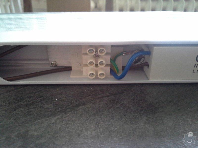 Zapojení zásuvek v kuchyňské lince a zapojení světla na kuchyňské lince: 088