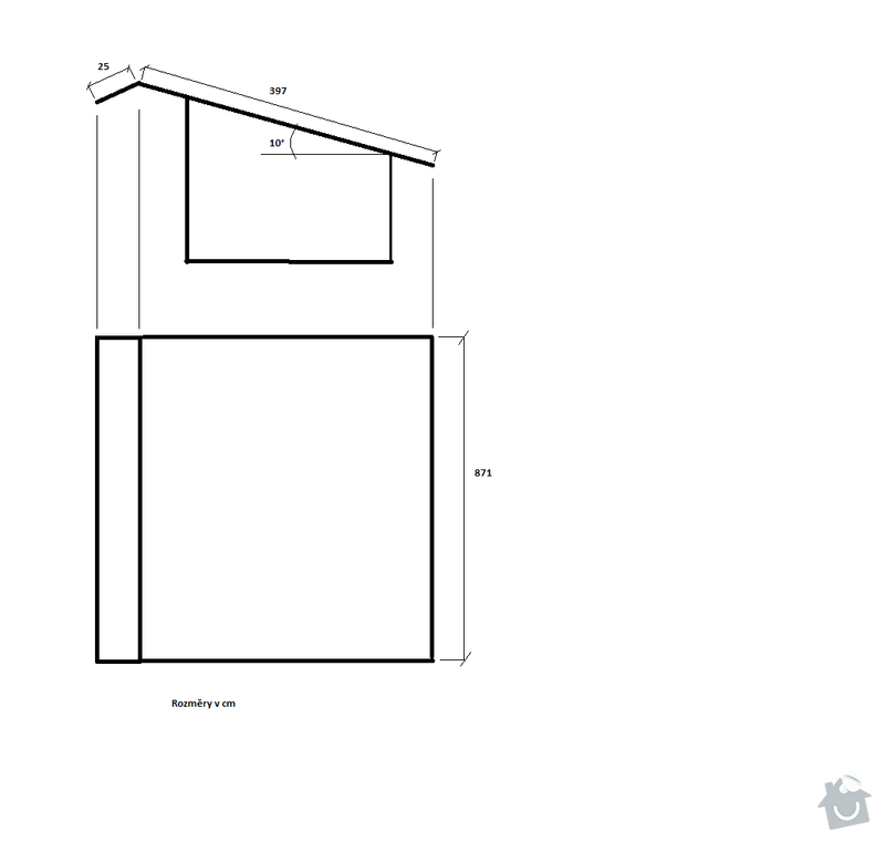 Výměna střešní krytiny na kůlně: Kulna