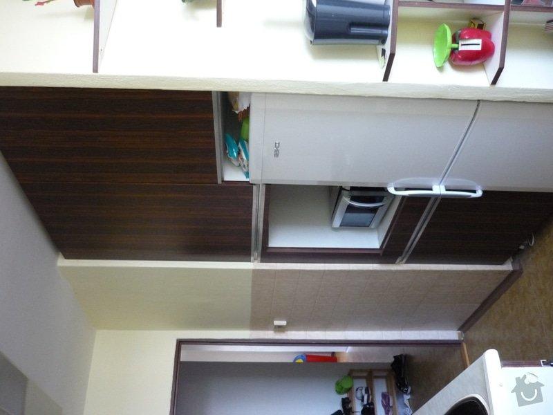 Výroba kuchyňské linky: P1100090