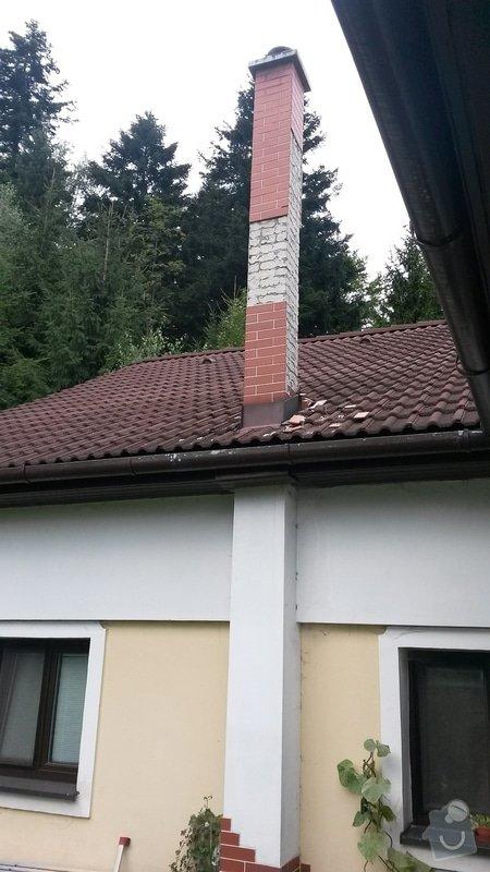 Oprava komína (opadané obklady): komin4