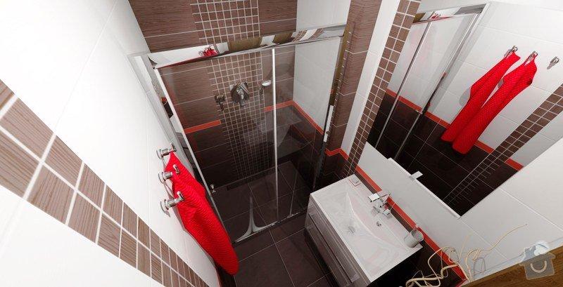 Rekonstrukce panelového bytu - jádro: koupelna-vizualizace-2