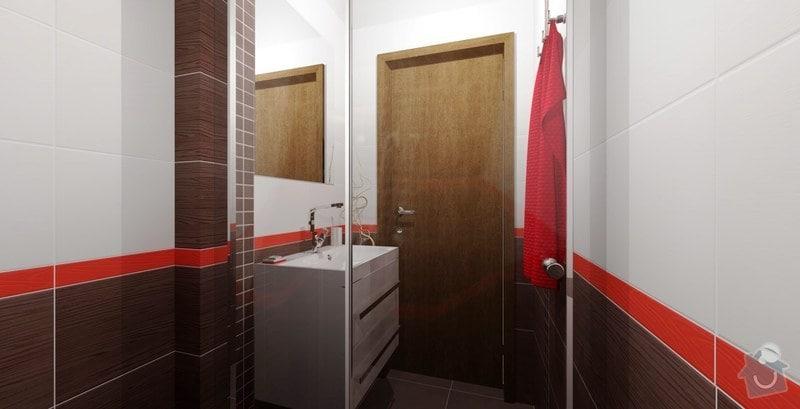 Rekonstrukce panelového bytu - jádro: koupelna-vizualizace-3