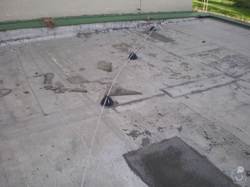 Oprava ploché střechy dvougaráže, 37m2.: IMGP03
