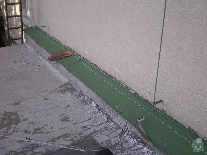 Oprava ploché střechy dvougaráže, 37m2.: IMGP06