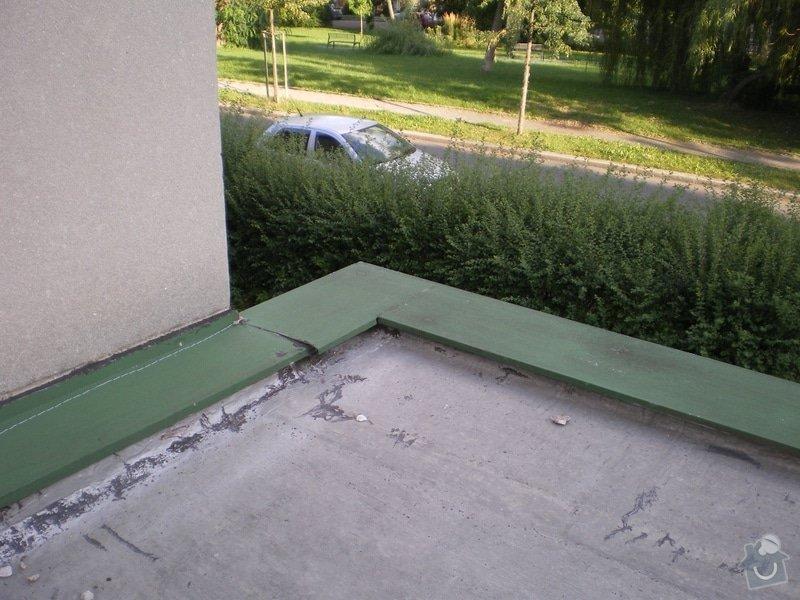 Oprava ploché střechy dvougaráže, 37m2.: IMGP07