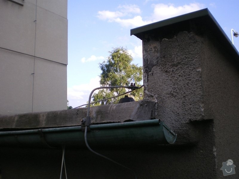 Oprava ploché střechy dvougaráže, 37m2.: IMGP09