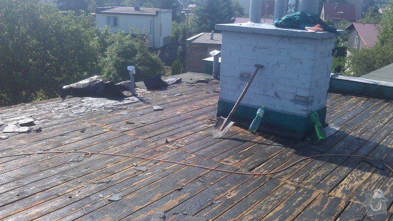Rekonstrukce ploché střechy: IMAG0508