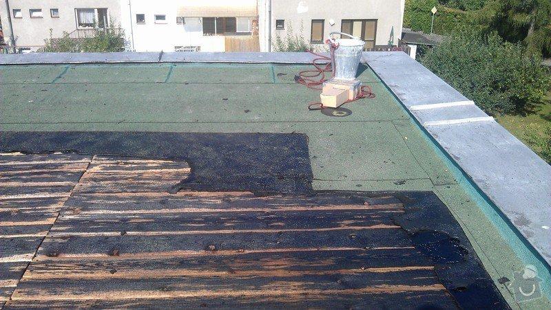 Rekonstrukce ploché střechy: IMAG0509