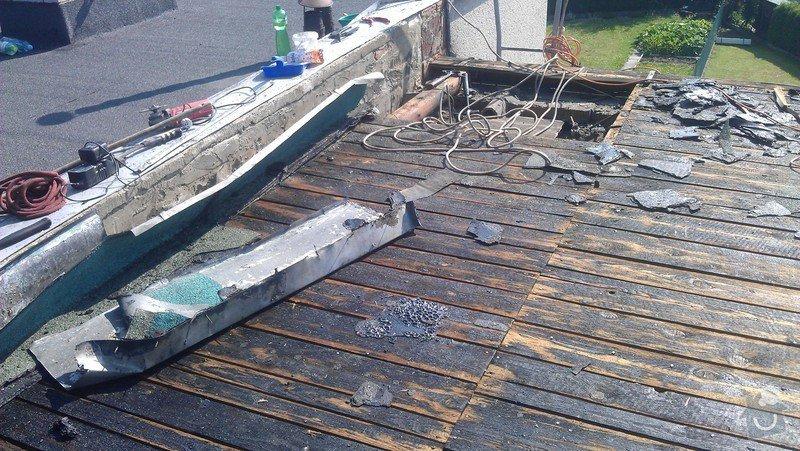 Rekonstrukce ploché střechy: IMAG0510
