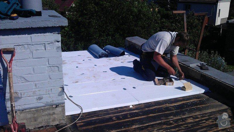 Rekonstrukce ploché střechy: IMAG0511