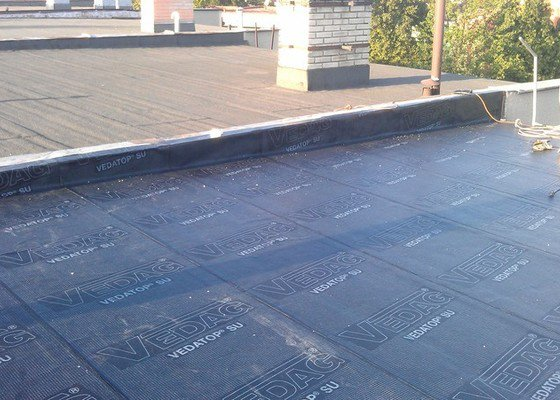 Rekonstrukce ploché střechy