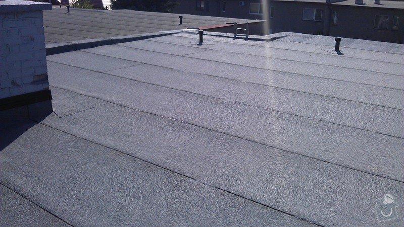 Rekonstrukce ploché střechy: IMAG0528