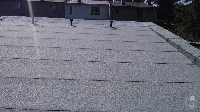 Rekonstrukce ploché střechy: IMAG0529