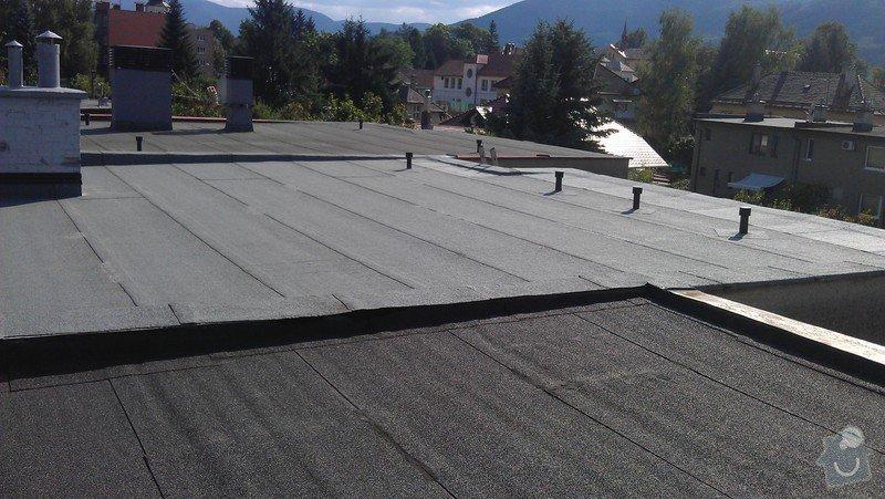 Rekonstrukce ploché střechy: IMAG0531