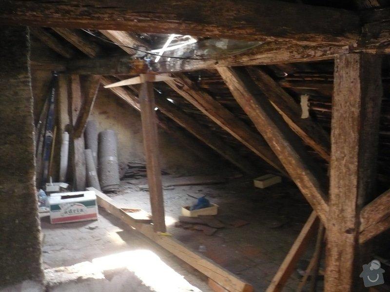 Nová střecha na řadový rodinný dům: P1160828