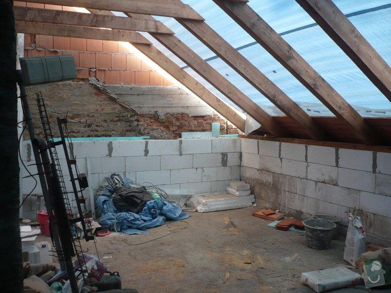 Nová střecha na řadový rodinný dům: P1160906