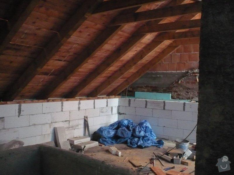 Nová střecha na řadový rodinný dům: P1160916