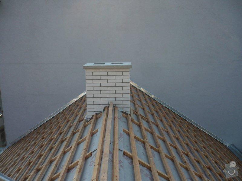 Nová střecha na řadový rodinný dům: P1160937