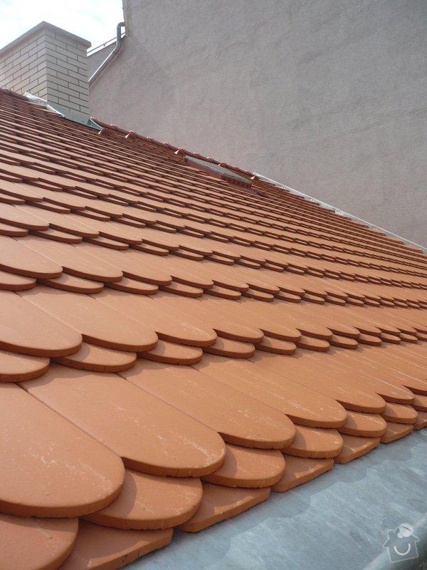 Nová střecha na řadový rodinný dům: P1160952