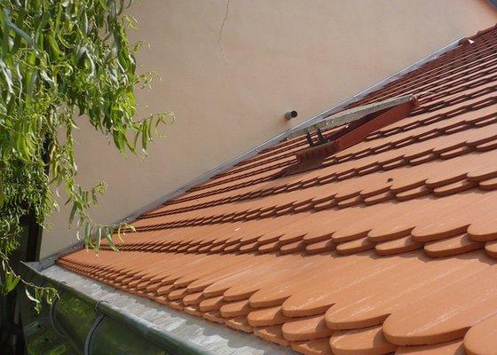 Nová střecha na řadový rodinný dům