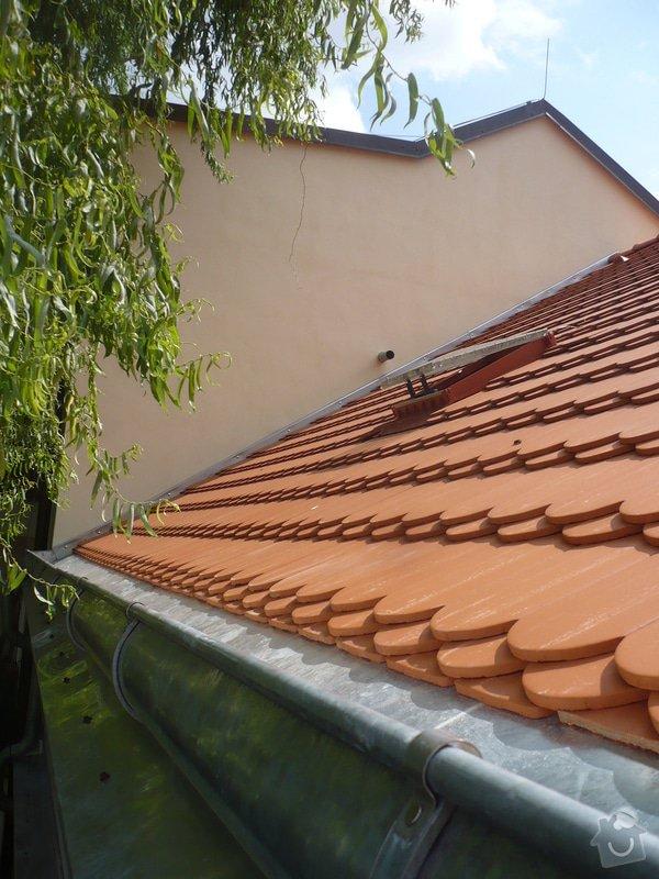 Nová střecha na řadový rodinný dům: P1160953