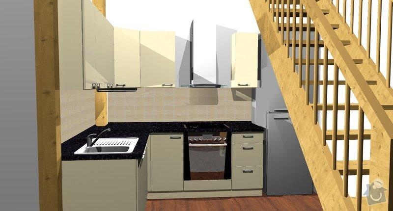 Kuchyňská linka: Kuchyne__pohled_3