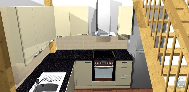 Kuchyňská linka: Kuchyne__pohled_5