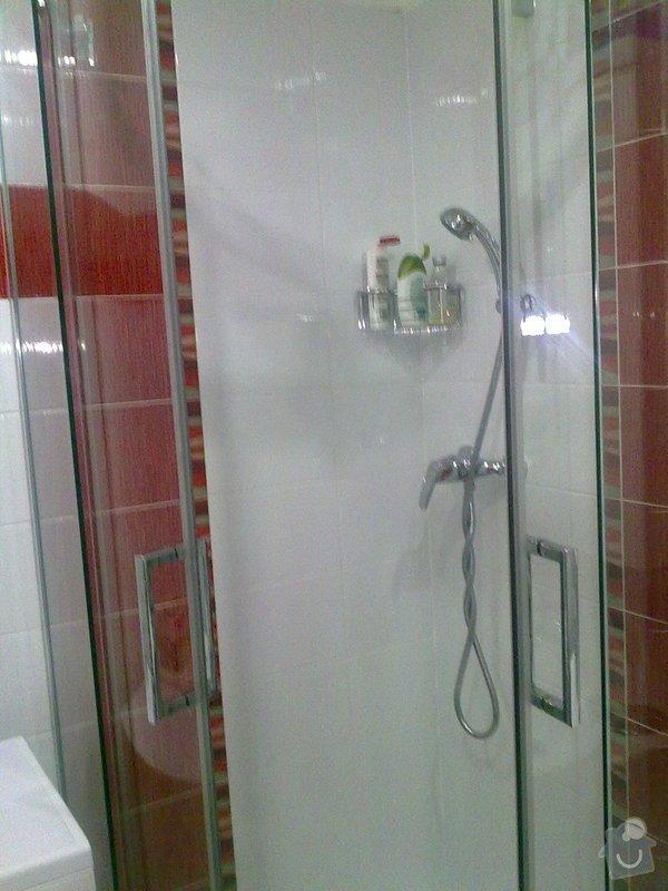Rekontsrukce bytového jádra : sprch