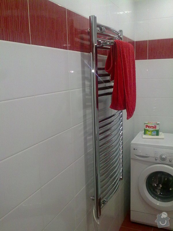 Rekontsrukce bytového jádra : koupelna