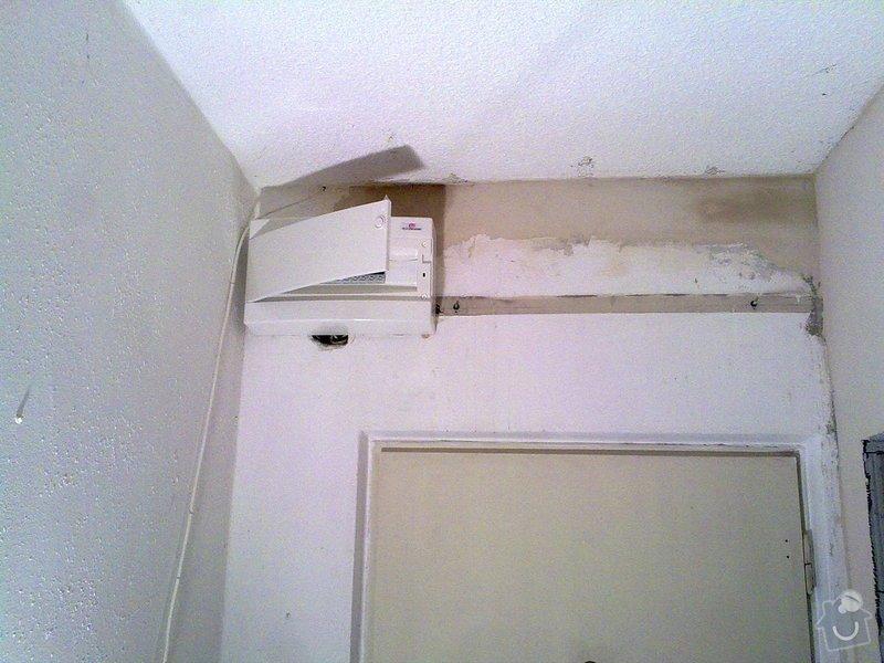 Rekontsrukce bytového jádra : rek_el