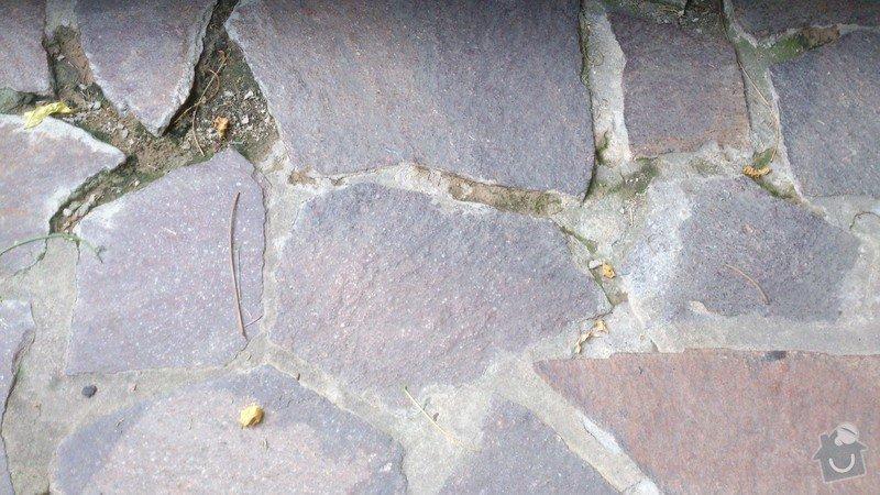 Přespárování venkovní kamenné dlažby: DSC_0025