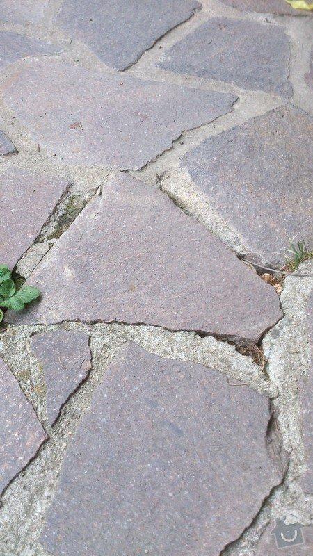 Přespárování venkovní kamenné dlažby: DSC_0024