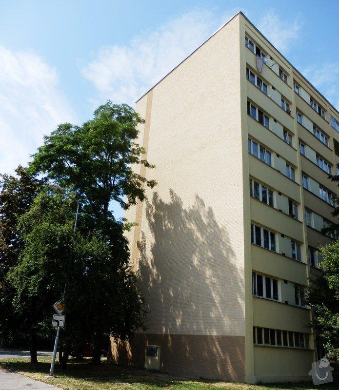 Zateplení štítů panelového domu: P7230003
