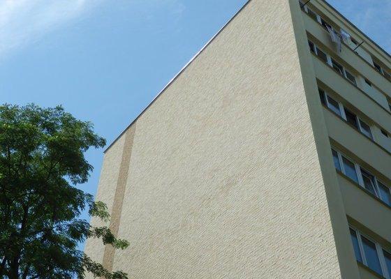 Zateplení štítů panelového domu