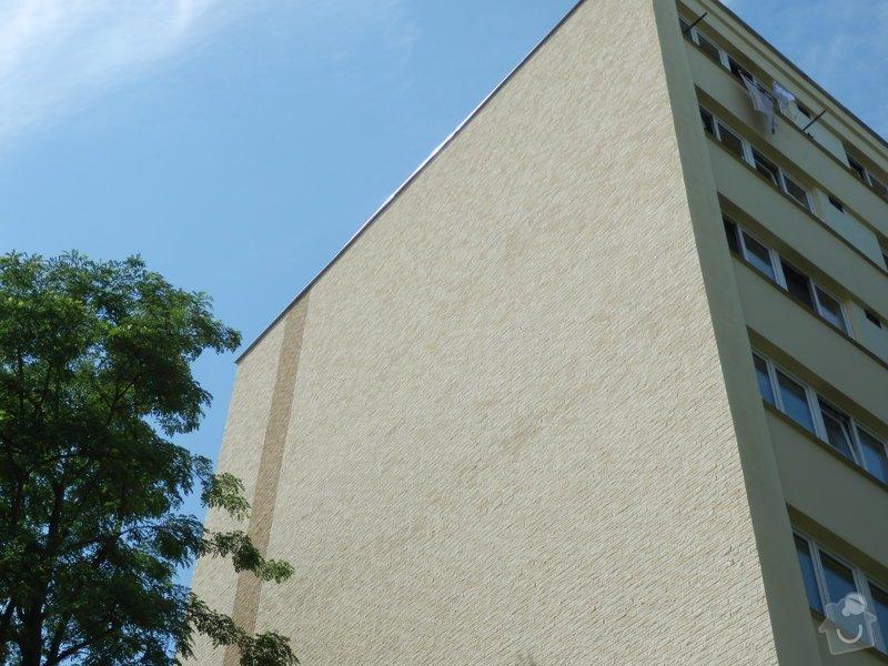 Zateplení štítů panelového domu: P7230025