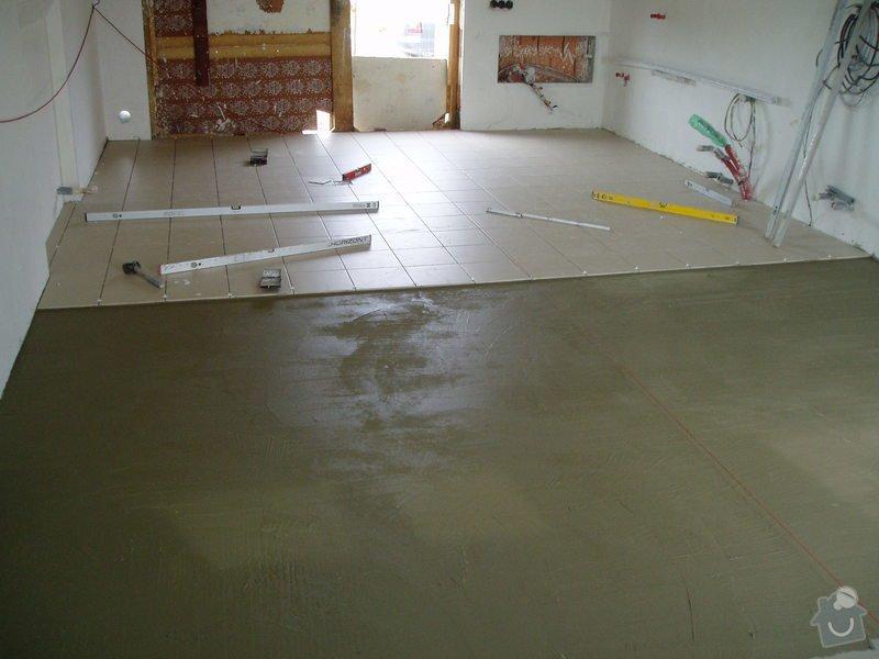 Pokládka dlažby 40 m2: RD_032