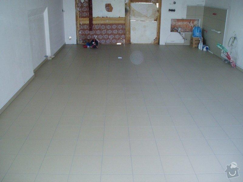 Pokládka dlažby 40 m2: RD.046