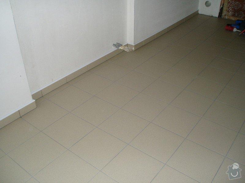 Pokládka dlažby 40 m2: RD._047