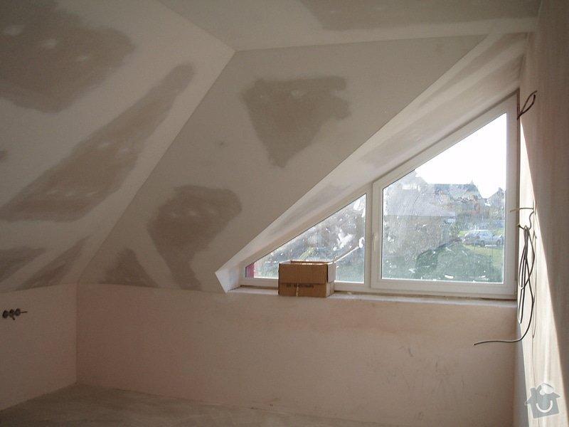 Montáž sádrokartonu (podkroví): P1010039