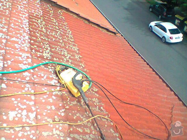Očištění střechy od mechu: Fotografie0769