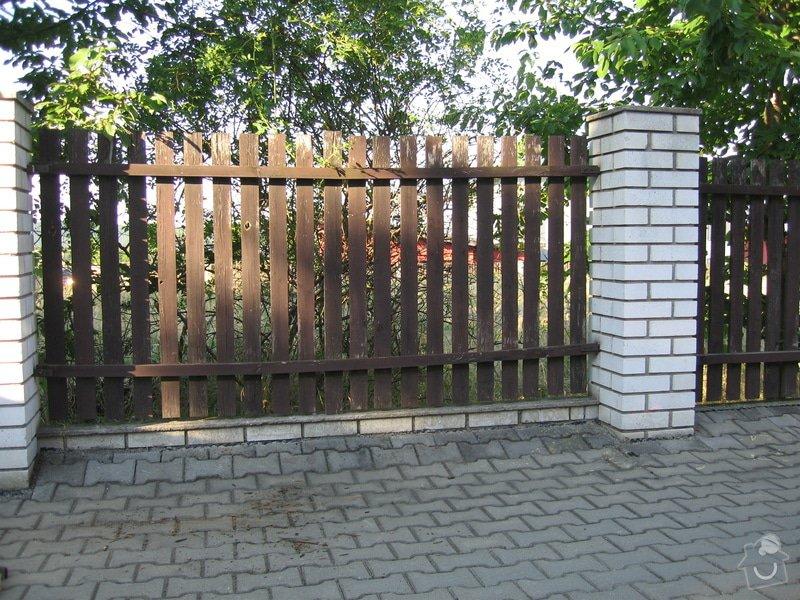 Natěračské práce - nátěr plotu: IMG_34412