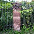 Dostavba 3m kamenne zdi oploceni oprava 2 cihlovych sloupku o zed 07 sloupek
