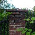 Dostavba 3m kamenne zdi oploceni oprava 2 cihlovych sloupku o zed 08 sloupek
