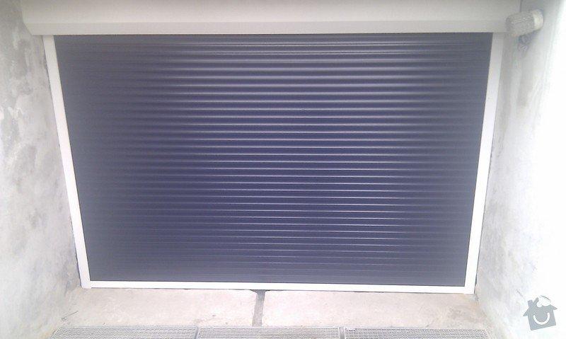 Dodání a montáž garážových vrat: IMAG0566