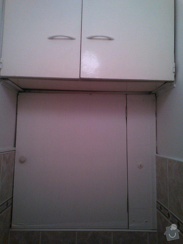 SPECHA! Sadrokarton, polepeni skrine folii, vymena zasuvek, instalace novych podlahovych list: WP_000067