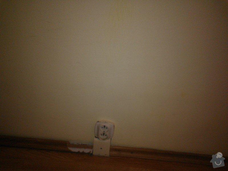 SPECHA! Sadrokarton, polepeni skrine folii, vymena zasuvek, instalace novych podlahovych list: WP_000065