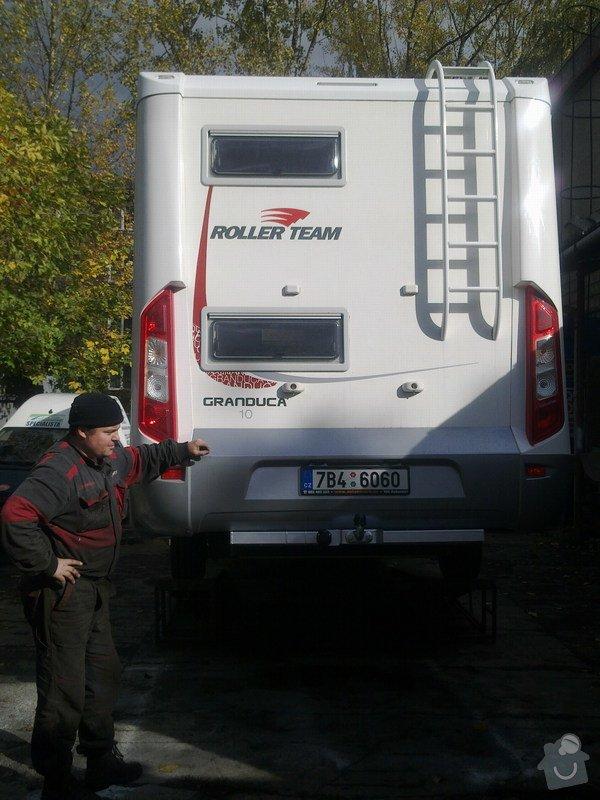 Tažná zařízení na obytné karavany: Super